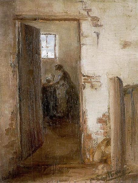 The Kitchen, c.1912 - Clara Southern