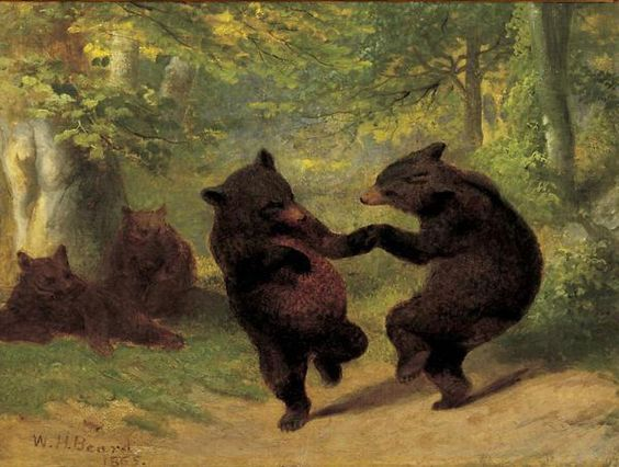 Dancing Bears, 1865 - William Holbrook Beard