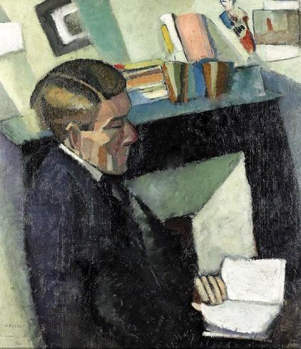 Portrait de Charles Chinet, 1917 - Гюстав Буше