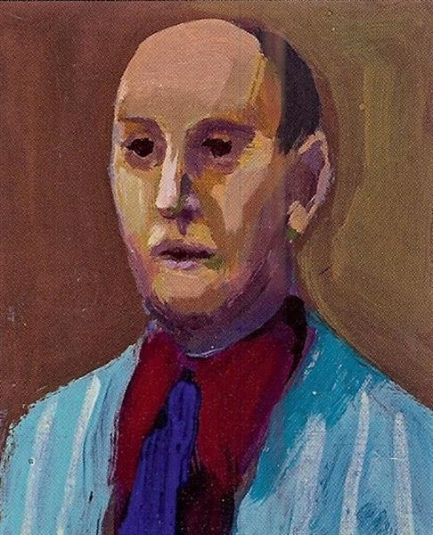 Man with Blue Tie, 1962 - Джеймс Уикс