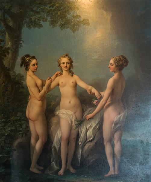 The Three Graces, c.1765 - Шарль Андре Ван Лоо