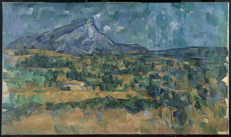 Mont Sainte Victoire, 1902 - 1906 - Paul Cezanne