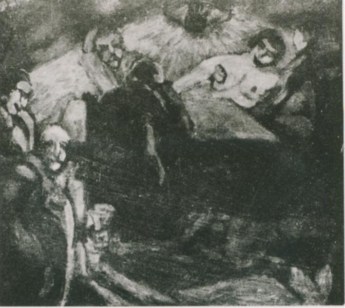 Brothel, 1916 - Walter Gramatté
