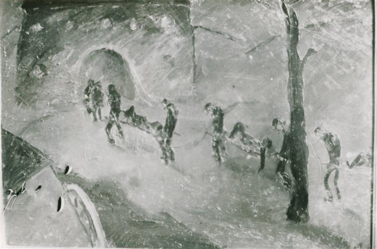 Warning, 1917 - Walter Gramatté