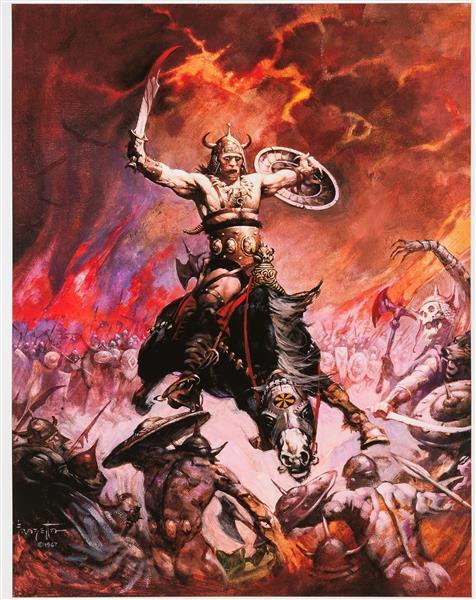 Conan the Conqueror - Frank Frazetta