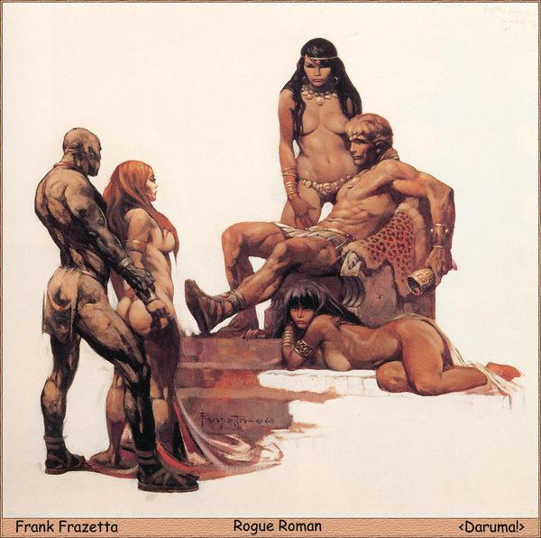 Rogue Roman - Frank Frazetta