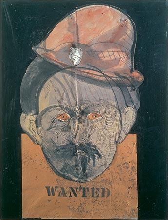 Autorretrato con mascara de Jack el destripador, 1968 - José Luis Cuevas