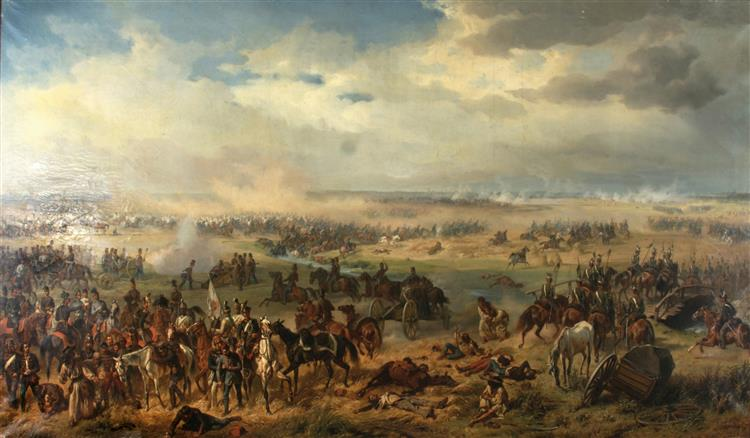 The Battle of Temesvár, 1855 - Albrecht Adam