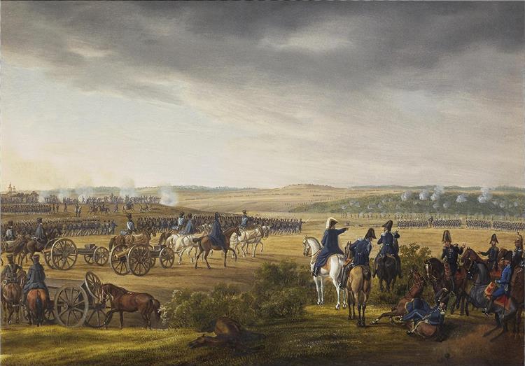 Battle for Moscow 7 September 1812, 1825 - Albrecht Adam
