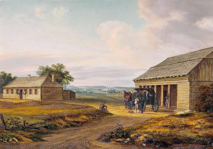 Daŭhinaŭ. 17 July 1812, 1812 - Освальд Ахенбах