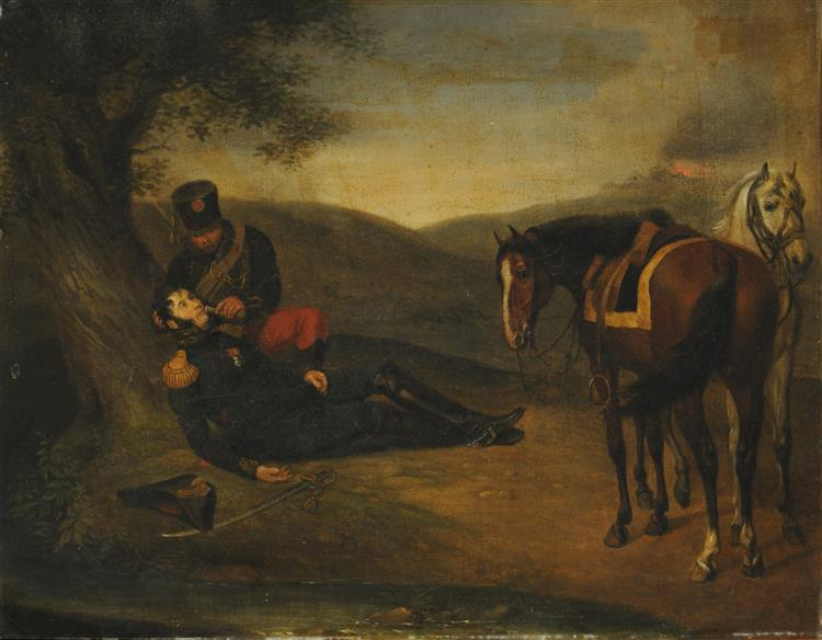General Herido, 1802 - Albrecht Adam