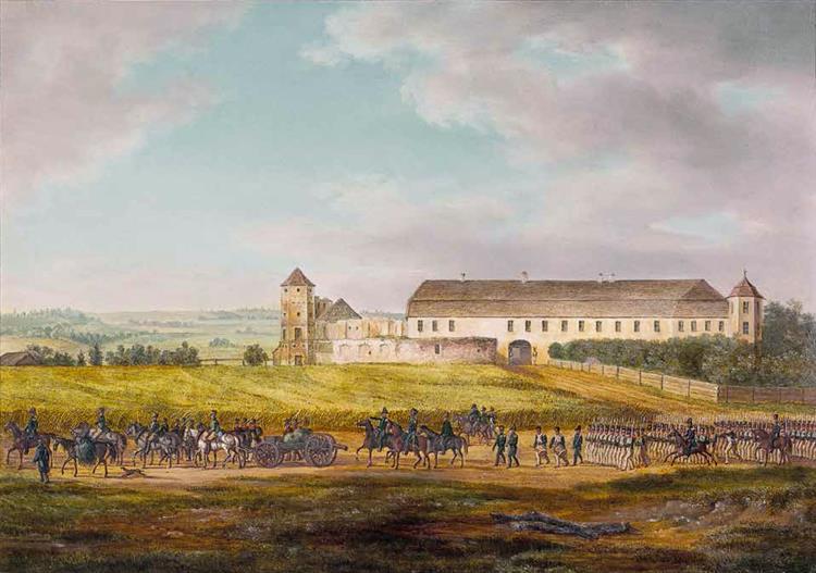 Halšany, 1812 - Albrecht Adam