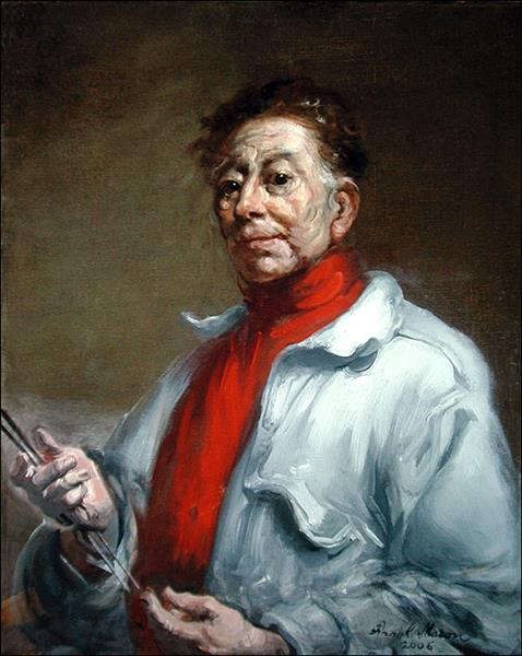 Elf Portrait in Red Shirt, 2006 - Frank Mason