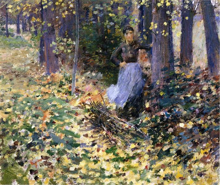 Autumn Sunlight, 1888 - Theodore Robinson