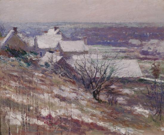 Winter Landscape, 1889 - Theodore Robinson