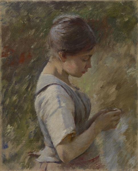 "Variation on ""la Vachere"", c.1889 - Theodore Robinson"