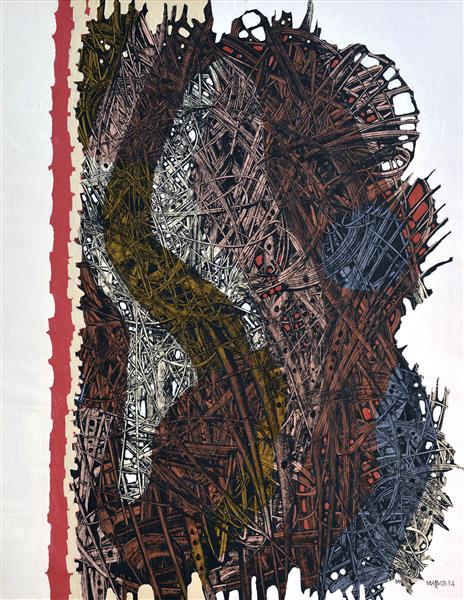 Composition № 349, 1994 - Ivan Marchuk