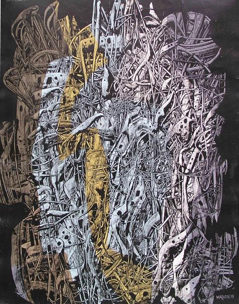 Composition № 368, 1995 - Ivan Marchuk