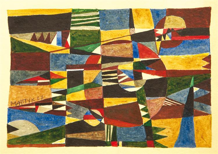 Melody, 1967 - Ivan Marchuk