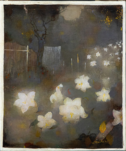 Lilies, c.1910 - Jan Mankes