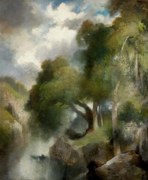 California Landscape, 1924 - Томас Моран