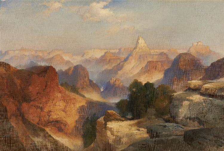 Grand Canyon, 1920 - Thomas Moran