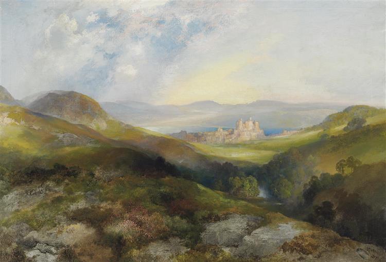 Conway Castle, 1917 - Thomas Moran
