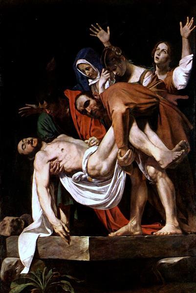 Entombment of Christ, c.1603 - Caravaggio