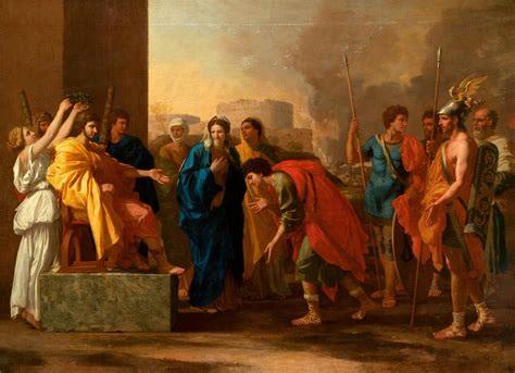 The Continence of Scipio, 1640 - Nicolas Poussin