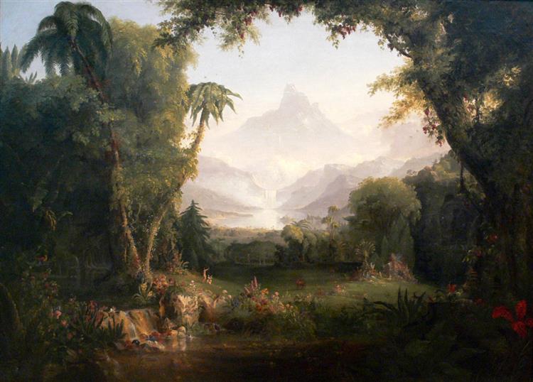 The Garden of Eden, 1828 - 托馬斯·科爾