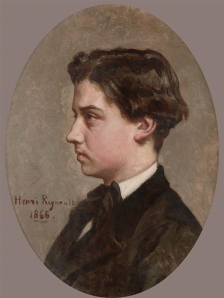 Portrait of the artist's brother, 1866 - Henri Regnault