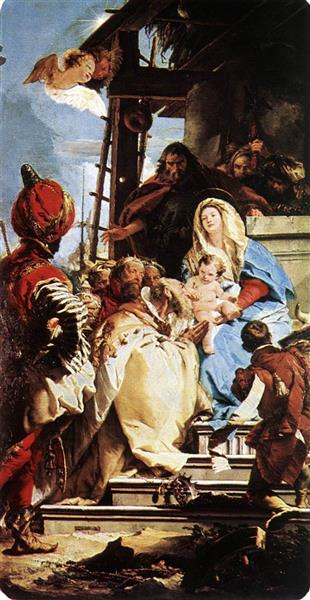 Adoration of the Magi, 1753 - Giovanni Battista Tiepolo