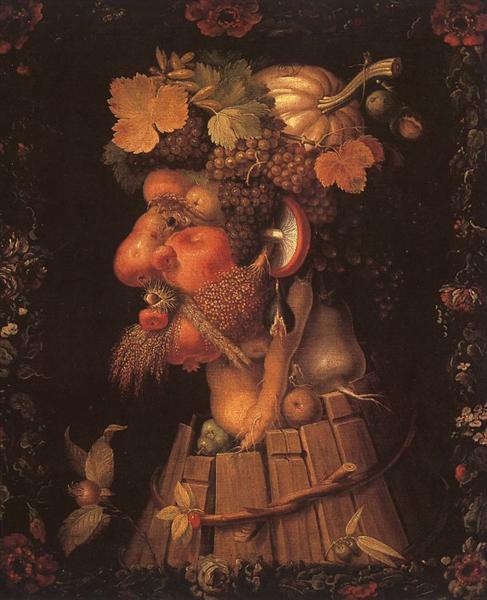 Autumn, 1573 - Giuseppe Arcimboldo