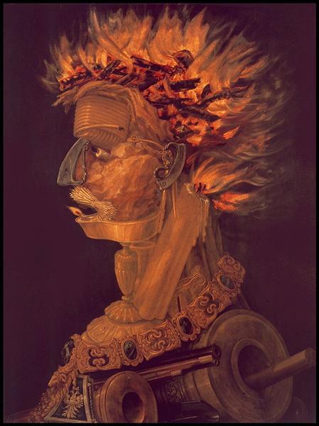Fire, 1566 - Giuseppe Arcimboldo