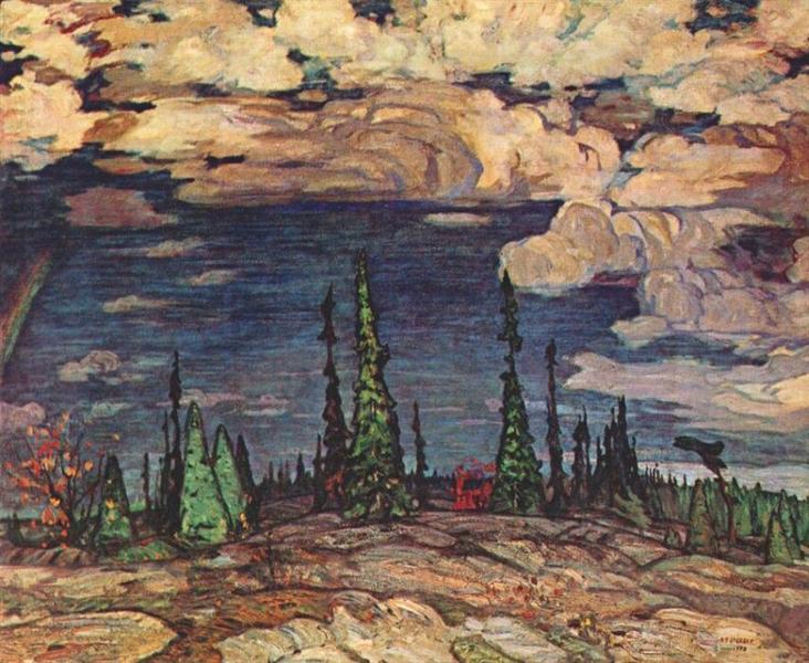 Terre Sauvage, 1913 - A.Y. Jackson