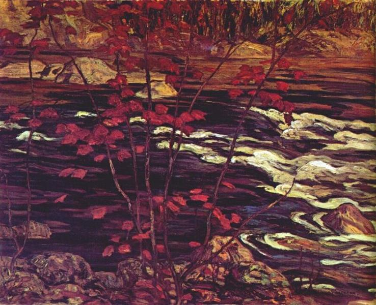 The Red Maple, 1914 - A.Y. Jackson