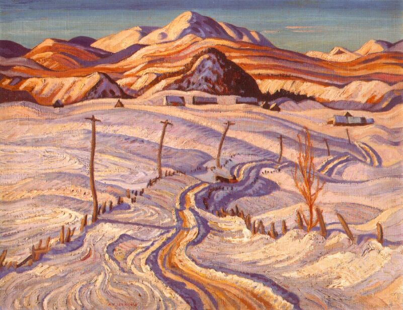 Winter Morning, Charlevoix County, 1933