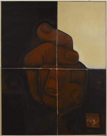 Hands, 1989 - Abidin Dino