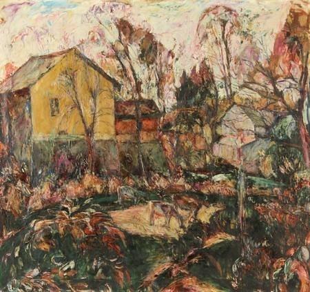 Landscape with Animals - Абрам Маневич