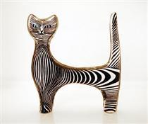 Cat - Abraham Palatnik