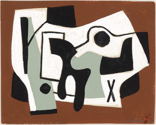 Study for a Painting - Ad Reinhardt