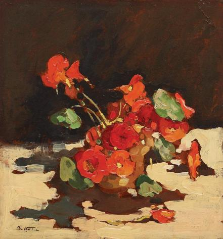 Cup with Geraniums - Adam Baltatu