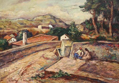 Dobrujan Landscape - Adam Baltatu