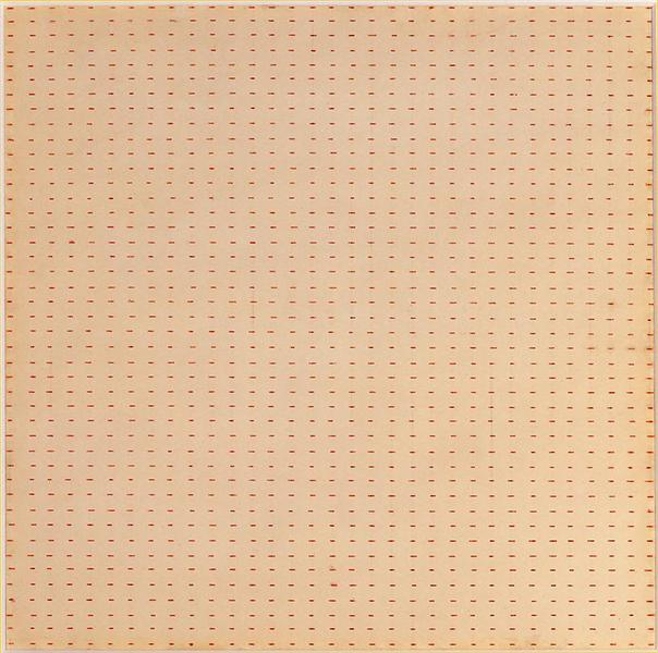 Untitled (White Flower), 1961 - Agnes Martin