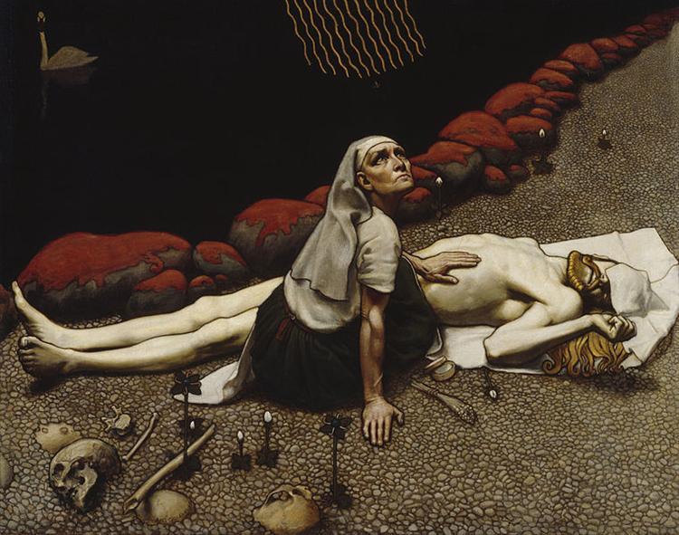 Lemminkäinen's Mother, 1897 - Akseli Gallen-Kallela