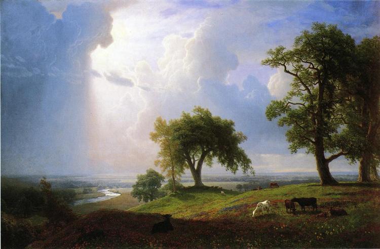 Άνοιξη της Καλιφόρνια, 1875 - Άλμπερτ Μπιέρσταντ