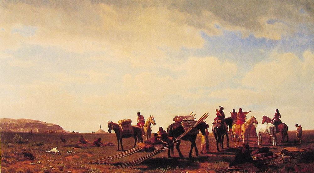 http://uploads1.wikiart.org/images/albert-bierstadt/indians-travelling-near-fort-laramie-1861.jpg