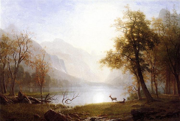 Valley in Kings Canyon - 阿爾伯特·比爾施塔特