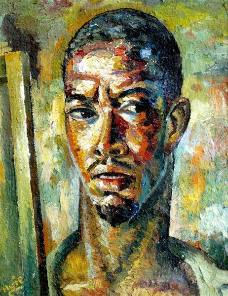 Self-Portrait, 1943 - Albert Huie