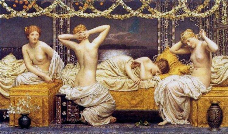 A Summer Night, 1890 - Albert Joseph Moore